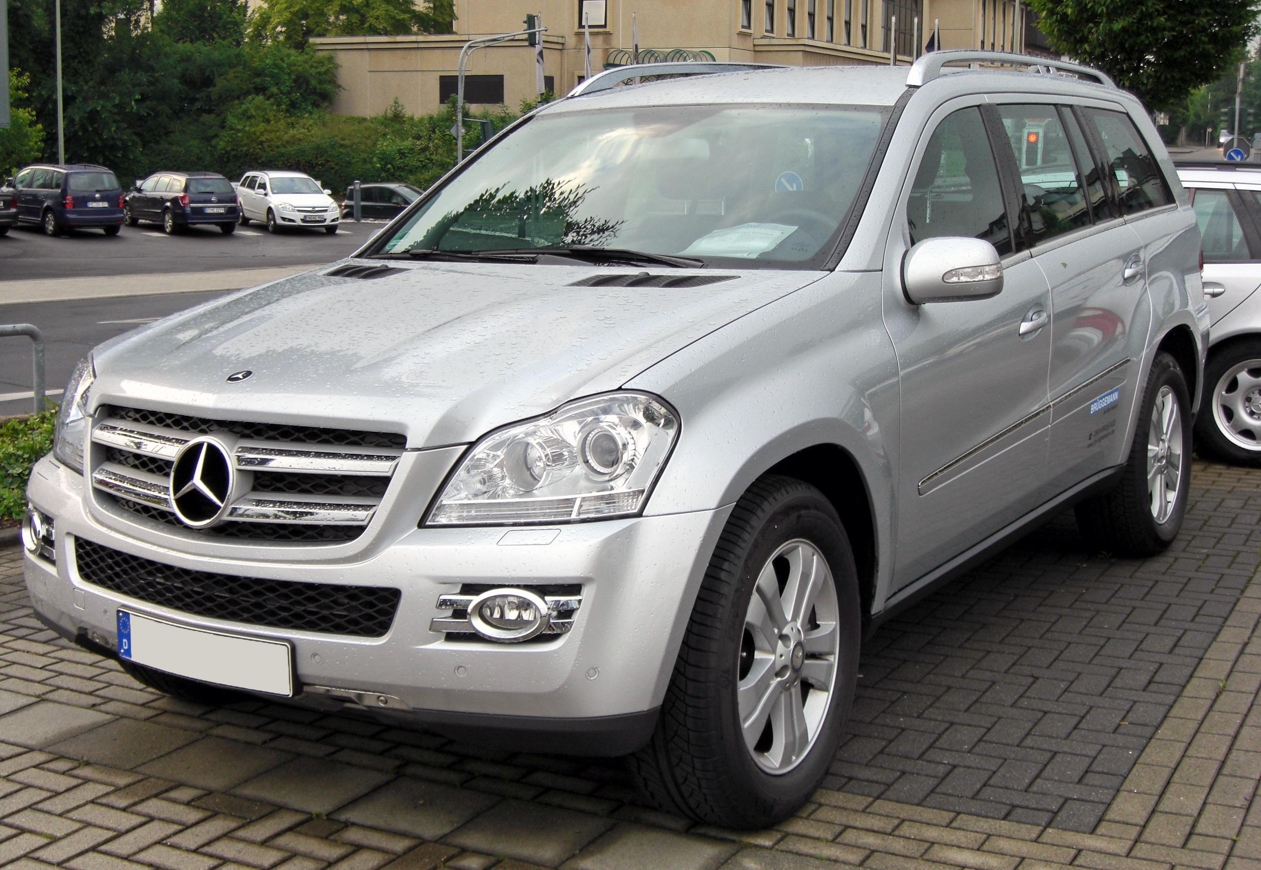 Сервис и ремонт Mercedes Gl (Мерседес Gl)